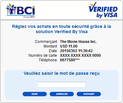 bci 3Dsecure 2